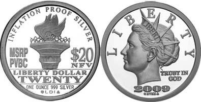 2009 Silver Liberty
