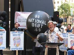 Black Debt Balloon