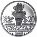 Silver Liberty Back